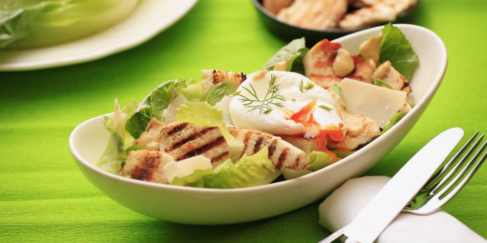 Sundt måltid kylling og grøntsager